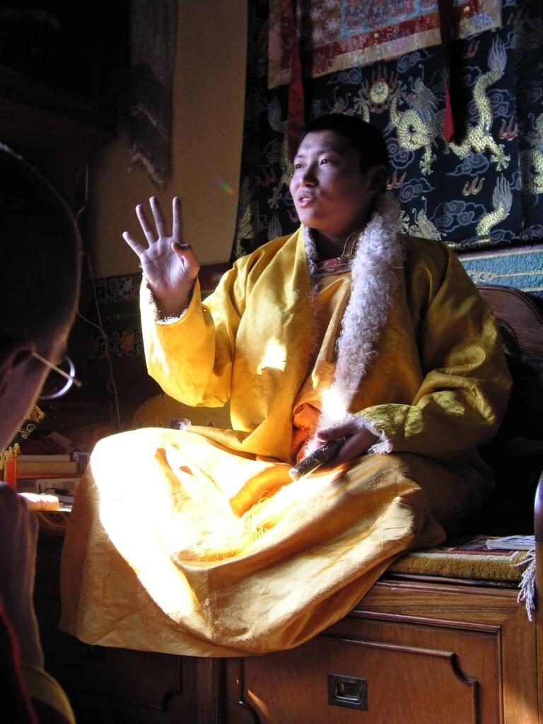 PhakchokRinpoche.Gesturing.2004