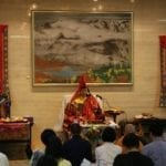 Receiving Tibetan Buddhist Empowerment
