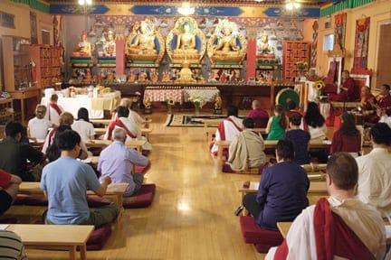 Rituals at Tibetan Buddhist Dharma Centers