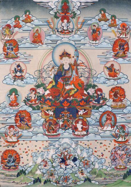 Following in Your Footsteps: the Lotus Born Guru in Nepal Pilgrimage
