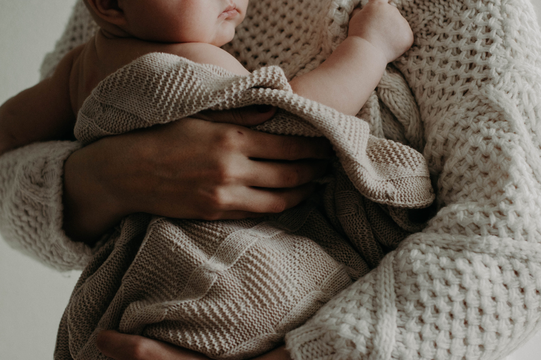 Cozy blanket baby