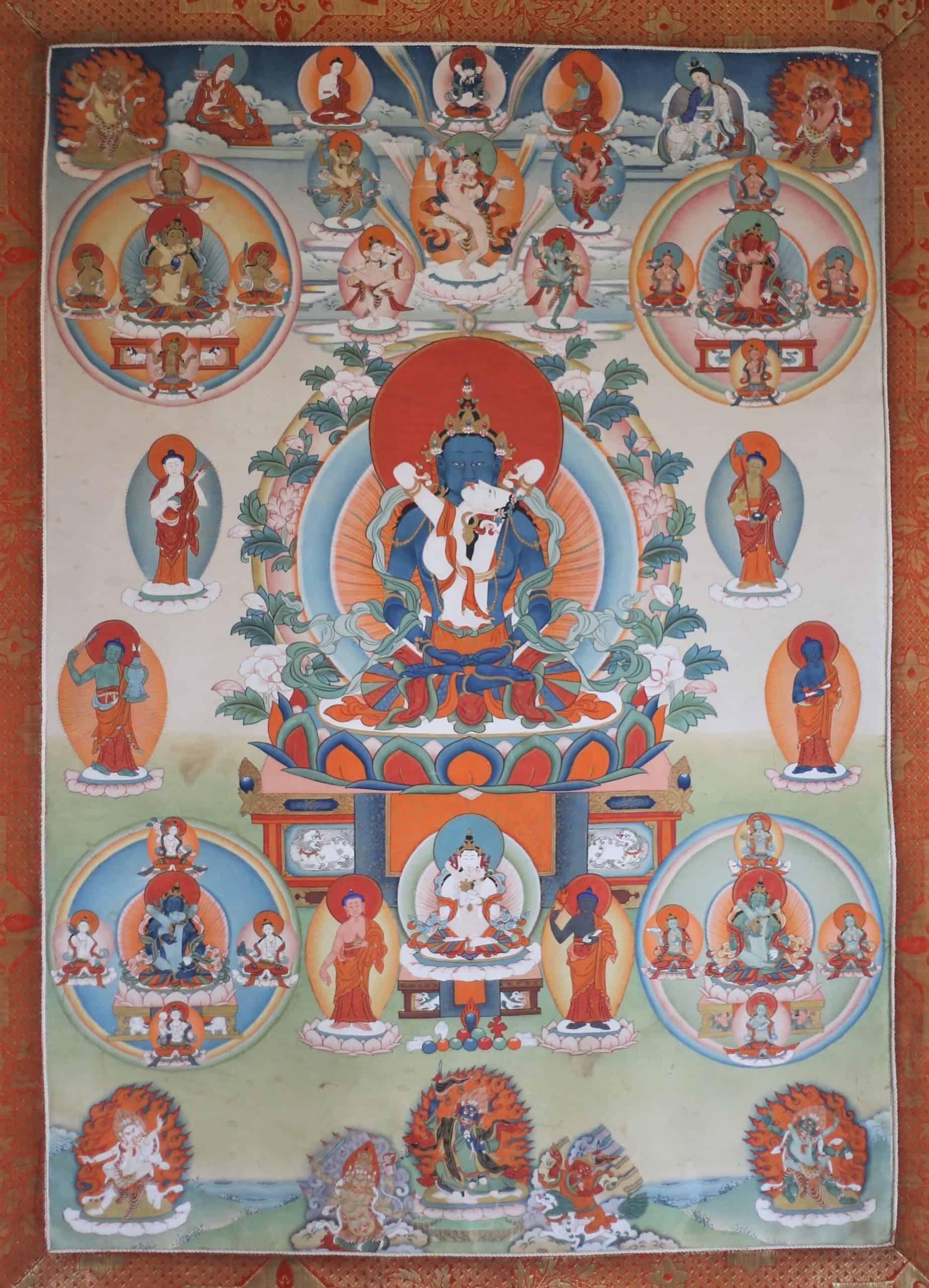 Peaceful Bardo Deities